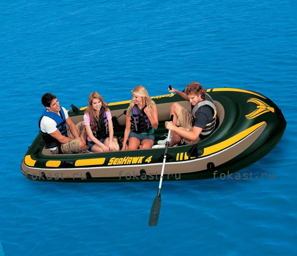 купить надувная лодка seahawk 400