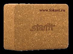 Блок для йоги STARFIT FA-102, пробка