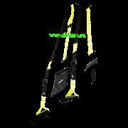 Тренировочные петли FA-701, черный/зеленый