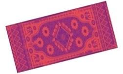 Коврик для йоги и фитнеса 183*61*0,3 см 5430LW, оранж./фиолетовый
