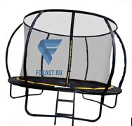 Батут 12FT 3,66м с защитной сеткой (внутрь) с лестницей CFR-12FT-4