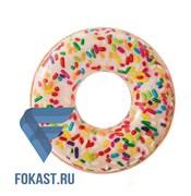 """Круг """"Пончик в глазури"""" 114см, Intex 56263"""