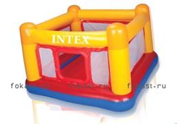 Батут прямоугольный джамп (174х174х112) 3-6лет. INTEX 48260