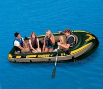 Надувная лодка Seahawk 400 351х145х48 см. INTEX 68351