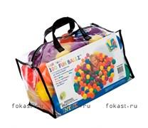 Цветные шарики 8см в сумке 100шт, 6 цветов. INTEX 49600