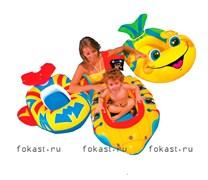 Лодка детская, 3 вида. INTEX 59380