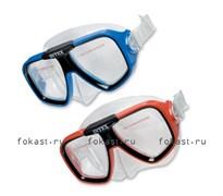 Маска для плавания Reef Rider, 2 цвета. INTEX 55974