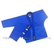 Кимоно дзюдо ES-0498  рост 120 (синее)
