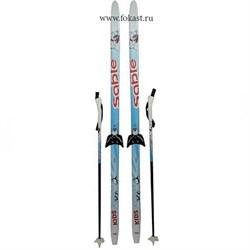 Лыж.комплект на 75мм STEP рост 150 - фото 10180