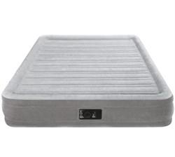 Надувная кровать со встр. насосом 220В Intex 67768 (137х191х33) - фото 10318