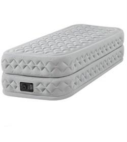 Надувная кровать Intex 64462 односпальная со встр. насосом 220В (99x191x51) - фото 10323