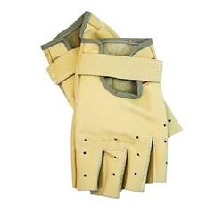 Перчатки для фитнеса натуральная кожа 039 - фото 10352