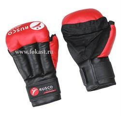 Перчатки для рукопашного боя, к/з, красные - фото 10644