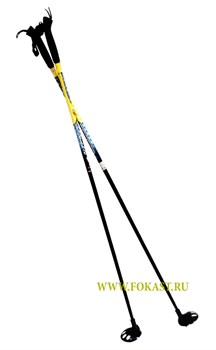 Палки лыжные стекловолокно, 115 см - фото 11687
