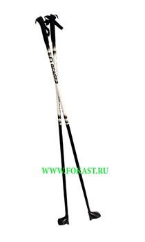 Палки лыжные стекловолокно, 155 см - фото 11689