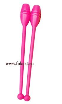 Булавы для художественной гимнастики У714, 35 см, розовые - фото 11785
