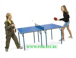 Стол для настольного тенниса Cadet, с сеткой - фото 11854
