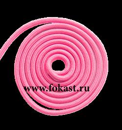 Скакалка для художественной гимнастики RGJ-104, 3 м, розовый - фото 11859