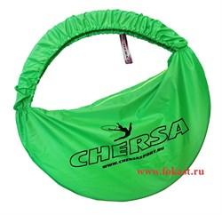 Чехол для обруча с карманом D 650, зеленый - фото 11909