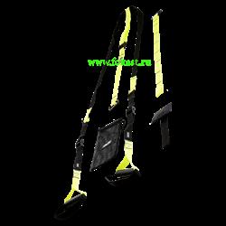 Тренировочные петли FA-701, черный/зеленый - фото 12370