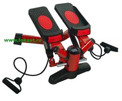Тренажер для бедер и ягодиц STARFIT HT-102 Mini Stepper с эспандерами - фото 13869