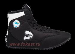 Обувь для борьбы Green Hill GWB-3052/GWB-3055 чёрные - фото 13878