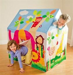 Игровой домик палатка Intex 45642 (95х107х75) - фото 13927