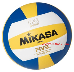 Мяч в/б MIKASA MV5PC р.5, синт. кожа - фото 13955