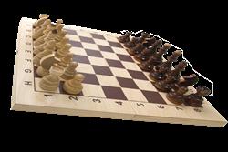 Шахматы гроссмейстерские, лакированные - фото 14007