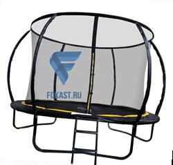Батут 14FT 4,27м с защитной сеткой (внутрь) с лестницей CFR-14FT-4 - фото 14117