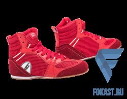 Обувь для бокса PS006 низкая, красный Green Hill - фото 15309