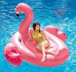 Надувной плот Фламинго Intex 57558 (142х137х97) - фото 15388
