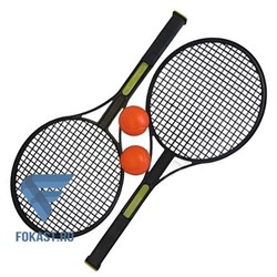 Набор для игры в теннис: 2 ракетки, 2 мяча TX74917 - фото 15481