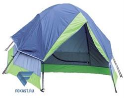Палатка 2-х мест. Двухслойная Reking  (240х137.5 см) TK-121 - фото 15493