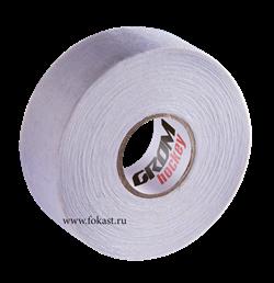 Лента хоккейная для крюка, 24мм х 25м, белый Grom - фото 15631