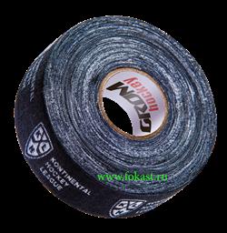 Лента хоккейная для крюка, 24мм х 25м, черный КХЛ УТ-00011022 - фото 15633