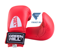 Накладки на кисть Green Hill Cobra KMС-6083, к/з, красные - фото 15832