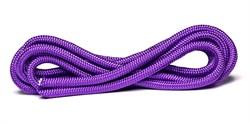 Скакалка для художественной гимнастики RGJ-104, 3м, фиолетовый - фото 15936