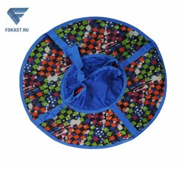 Санки надувные серия Дизайн с молнией 105 см ВСД/3М - фото 16389