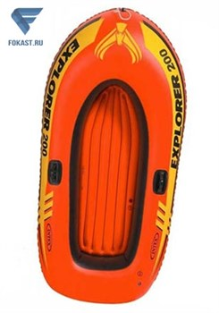 Лодка надувная двухместная EXPLORER, 198х117см 58330 - фото 16404