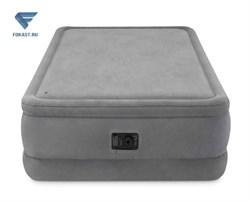 Двуспальная надувная кровать 64470 Intex с насосом 220В (152х203х51) - фото 16520