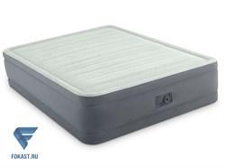Надувная двуспальная кровать с насосом Intex 64906 (152х203х46) - фото 16521