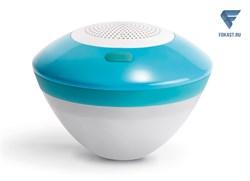Плавающая музыкальная колонка Intex Bluetooth с подсветкой - фото 16766