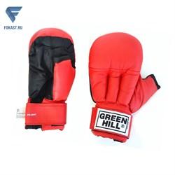 Перчатки для рукопашного боя PG-2047, к/з, красный - фото 16852