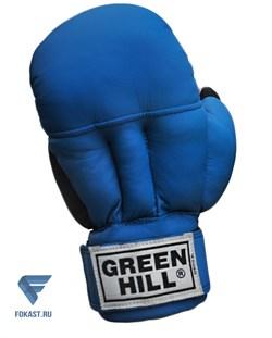 Перчатки для рукопашного боя PG-2047, к/з, синий - фото 16855