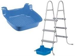Пластиковая ванночка для ног Bestway 58308 - фото 16970