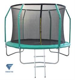 Батут 10FT 3,05м с защитной сеткой (внутрь) с лестницей GB102011-10FT - фото 17033