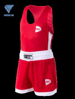 Форма боксерская Interlock BSI-3805, красный - фото 17181