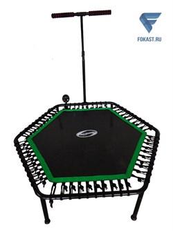 Фитнес -батут SportElite 135см FB-1351 с ручкой и компьютером - фото 17285