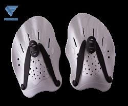 Лопатки для плавания Trial, серый - фото 17317